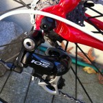 Shimano 105 Rear derailleur. 8 Speed